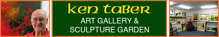 Ken Taber art studio and gallery